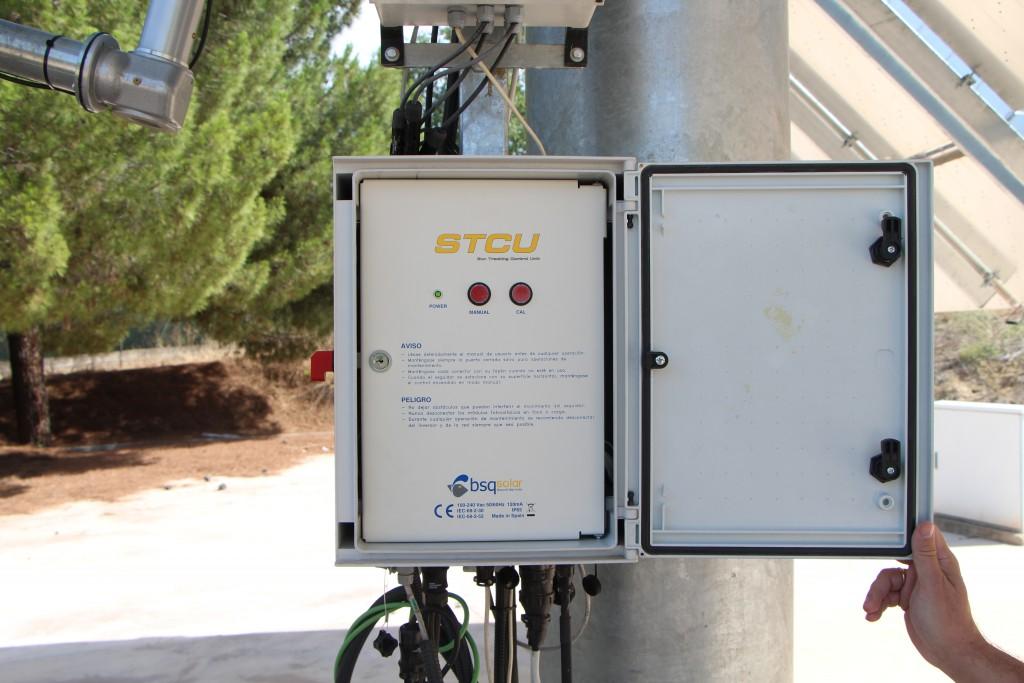 Sun Tracking control unit STCU